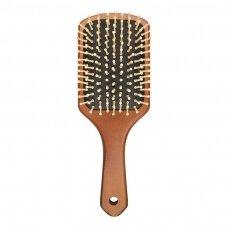 Plaukų šepetys WOODEN HAIR BRUSH