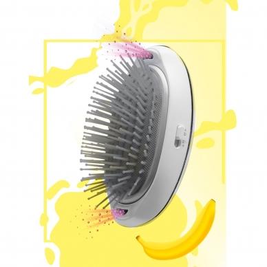 Matu iztaisnošanas suka Lanaform Silky Hair Brush
