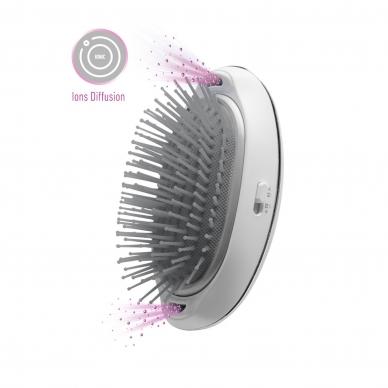 Matu iztaisnošanas suka Lanaform Silky Hair Brush 2