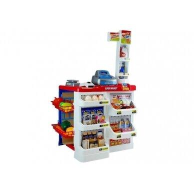 Tirdzniecības centrs ar iepirkumu grozu bērniem 2