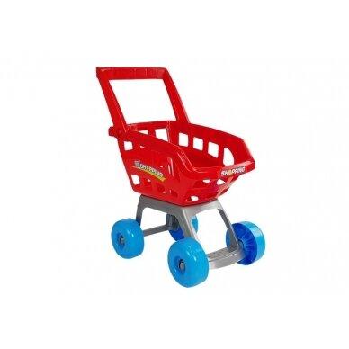 Prekybos centras su vežimėliu 3