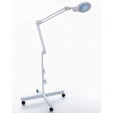 Kosmetologinė LED lempa su lupa 14W (pastatoma ant grindų) 2