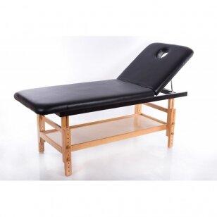 Statsionaarne massaažilaud Comfort (Black)