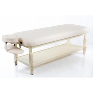 Stacionarus masažo stalas Classic Flat Biege