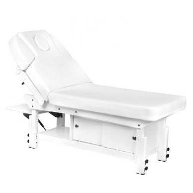 Statsionaarne massaažilaud AZZURRO 376A WHITE