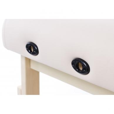 "Stacionarus masažo stalas Classic Flat Biege su ""Soft-foam"" sistema 7"