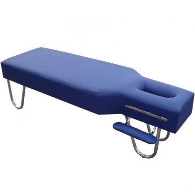 Stacionarus masažo stalas Steel (Dark Blue)