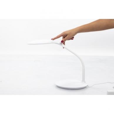Kosmetologinė LED lempa su lupa 7.5W (stalinė) 9