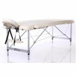 Sulankstomas masažo stalas Restpro Alu L2/Cream