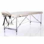 Saliekamais masāžas galds Alu S2 (Cream)