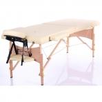 Sulankstomas masažo stalas Classic 2 (Beige)