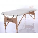 Sulankstomas masažo stalas Classic 2 (Cream)