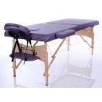 Sulankstomas masažo stalas Classic 2 (Purple)