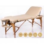 Sulankstomas masažo stalas Memory 3 (Beige)