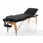Saliekamais masāžas galds Vip 3 (Black)