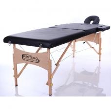 Saliekamais masāžas galds Classic 2 (Black)