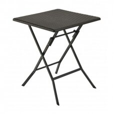 Sulankstomas stalas 62x62 cm SQUARE RATTAN