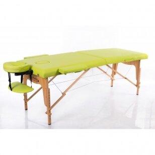 Saliekamais masāžas galds Classic 2 (Olive)