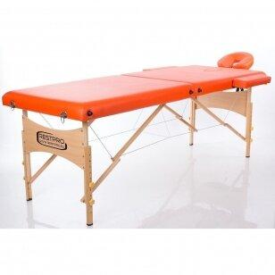 Saliekamais masāžas galds Classic 2 (Orange)