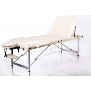 Saliekamais masāžas galds Alu 3 (Cream)