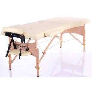 Saliekamais masāžas galds Classic 2 (Beige)