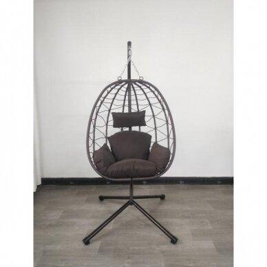 Riputatav tool-kiik muna (kokkupandav) 16
