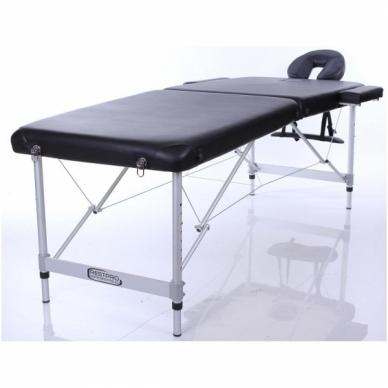 Sulankstomas masažo stalas Alu L2 (Black)