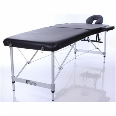 Sulankstomas masažo stalas ALU M2 (Black) 4