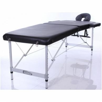 Sulankstomas masažo stalas ALU S2 (Black)