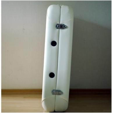 Sulankstomas masažo stalas Restpro Alu S2/Cream 3