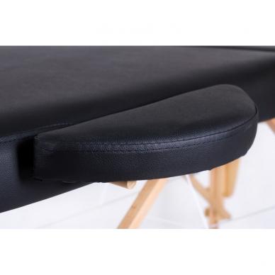 Sulankstomas masažo stalas Classic Oval 2 (Black) 4