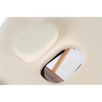 Saliekamais masāžas galds Classic Oval 2 (Cream) 6