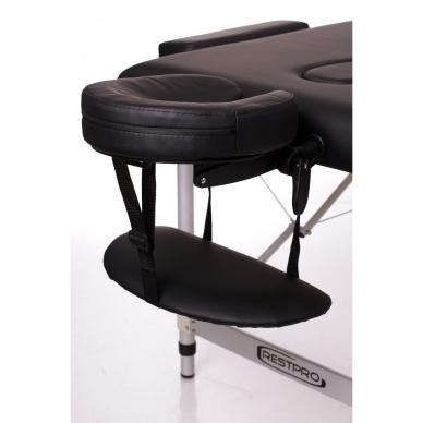 Sulankstomas masažo stalas ALU 3 (Black) 4
