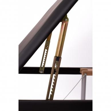 Sulankstomas masažo stalas ALU 3 (Black) 6