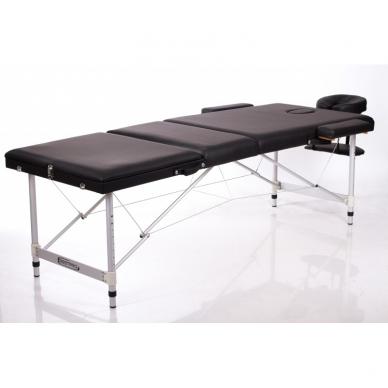 Sulankstomas masažo stalas ALU 3 (Black) 2