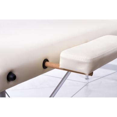 Sulankstomas masažo stalas Restpro Alu 3/Cream 5