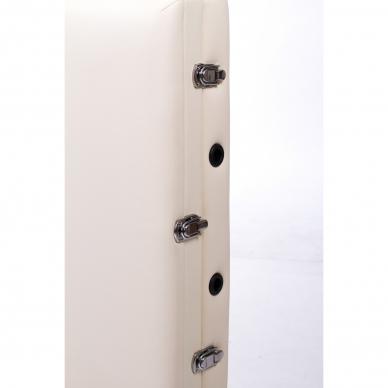 Sulankstomas masažo stalas ALU 3 (Cream) 6