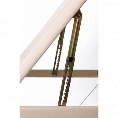 Sulankstomas masažo stalas ALU 3 (Cream) 7
