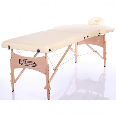 Sulankstomas masažo stalas Classic 2 (Beige) 2