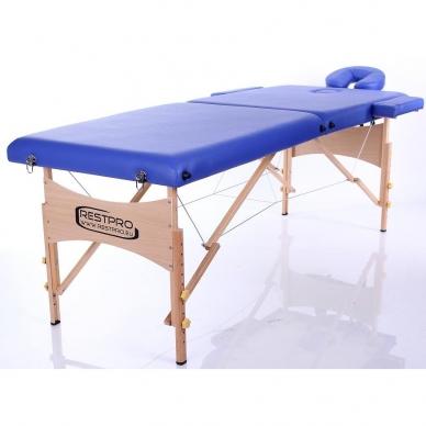 Sulankstomas masažo stalas Restpro Classic 2/Blue