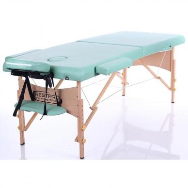 Sulankstomas masažo stalas Classic 2 (BlueGreen) 2
