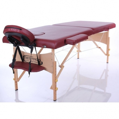 Sulankstomas masažo stalas Restpro Classic 2/WineRed