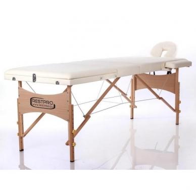 Sulankstomas masažo stalas Classic 3 (Cream) 3