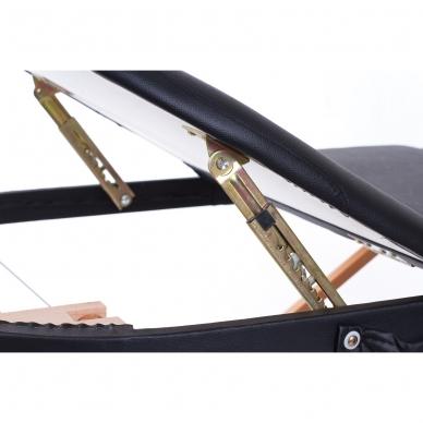 Sulankstomas masažo stalas Classic Oval 3 (Black) 6
