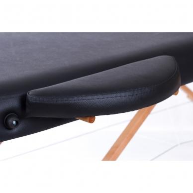 Sulankstomas masažo stalas Classic Oval 3 (Black) 7