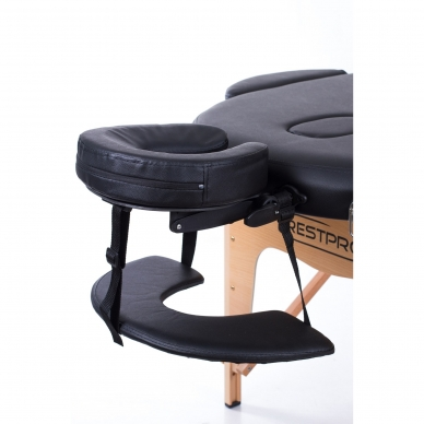 Sulankstomas masažo stalas Restpro Classic Oval 3/Black 4