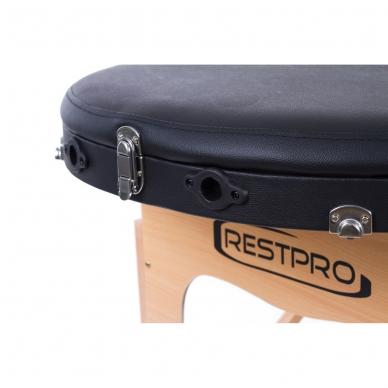 Sulankstomas masažo stalas Restpro Classic Oval 3/Black 9