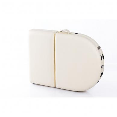 Sulankstomas masažo stalas Restpro Classic Oval 3/Cream 12