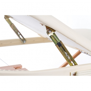 Sulankstomas masažo stalas Classic Oval 3 (Cream) 8