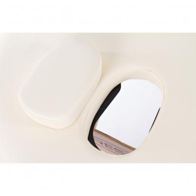 Sulankstomas masažo stalas Restpro Classic Oval 3/Cream 6